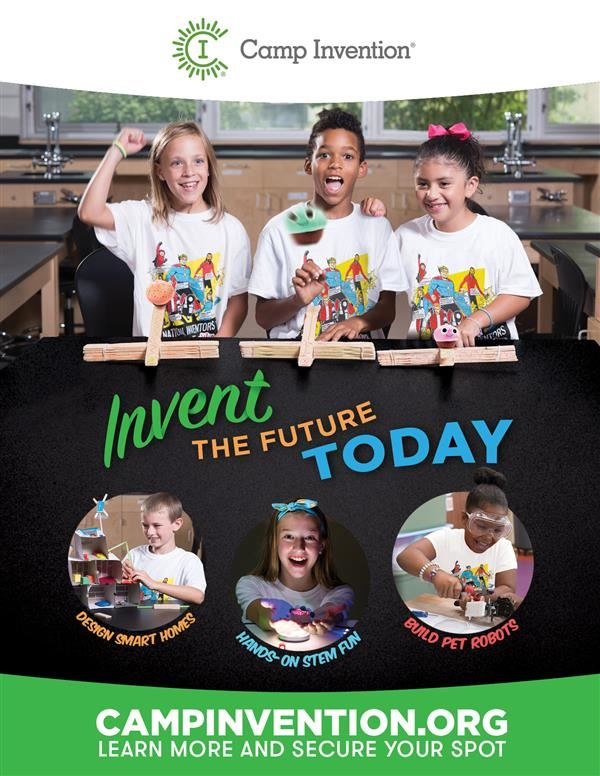 Camp Invention June 25-29