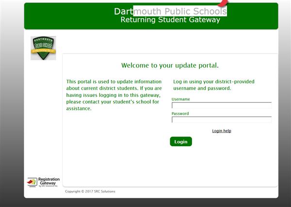 Back to School Gateway